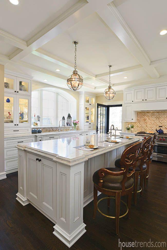 Encore Ceramics   This beautiful traditional kitchen features our Miramar  mosaic hand glazed in Truffle67 best Kitchens images on Pinterest   Kitchen ideas  Kitchen  . Kitchen Design Columbus Ohio. Home Design Ideas