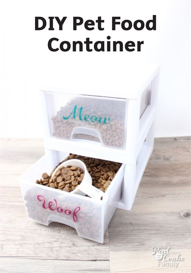 25 unique pet food container ideas on pinterest diy dog dog food containers and wellness dog. Black Bedroom Furniture Sets. Home Design Ideas