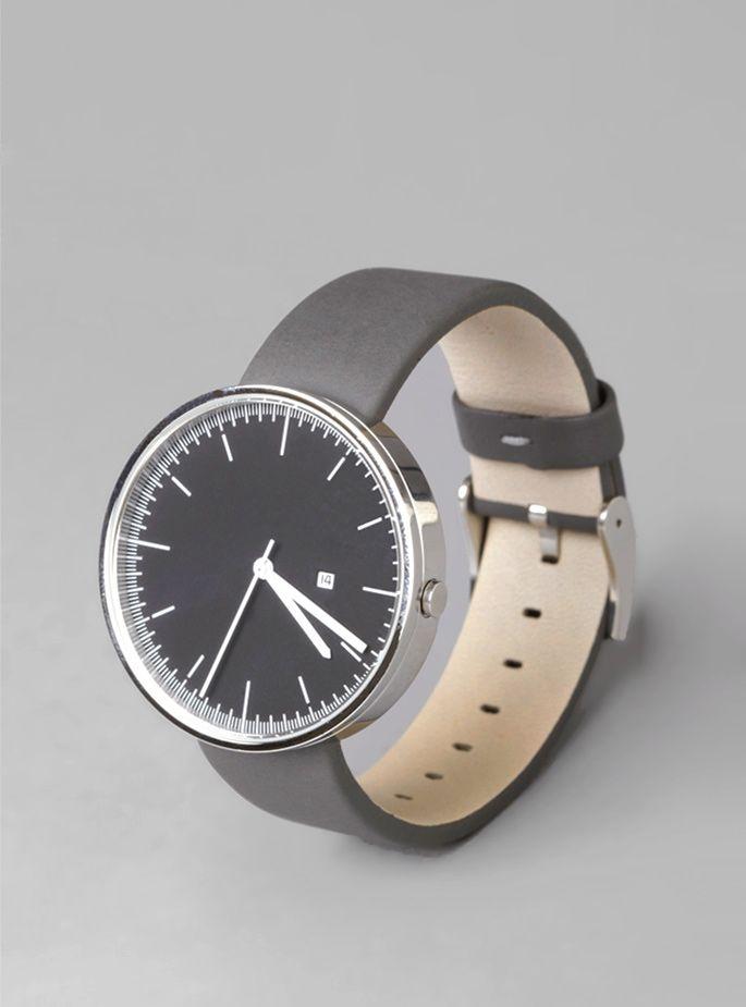 Slate grey watch