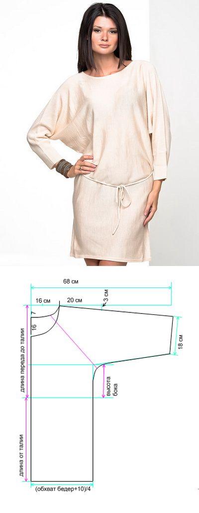 Платье для полных женщин: сшить быстро - Выкройки одежды для полных - Каталог файлов - Сайт для полных женщин, мода для полных