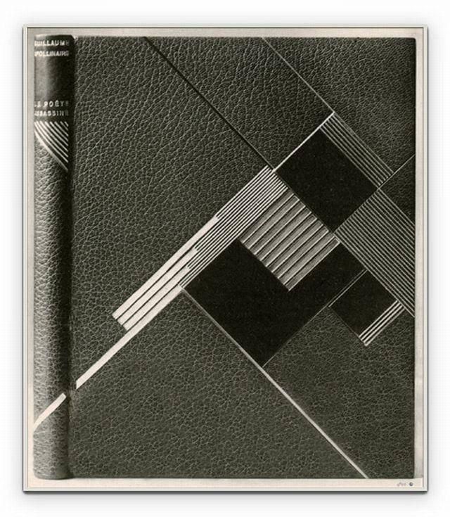 Geneviéve de LéotardLe Poéte Assassine c1928 Paris.  Deco bookbinding
