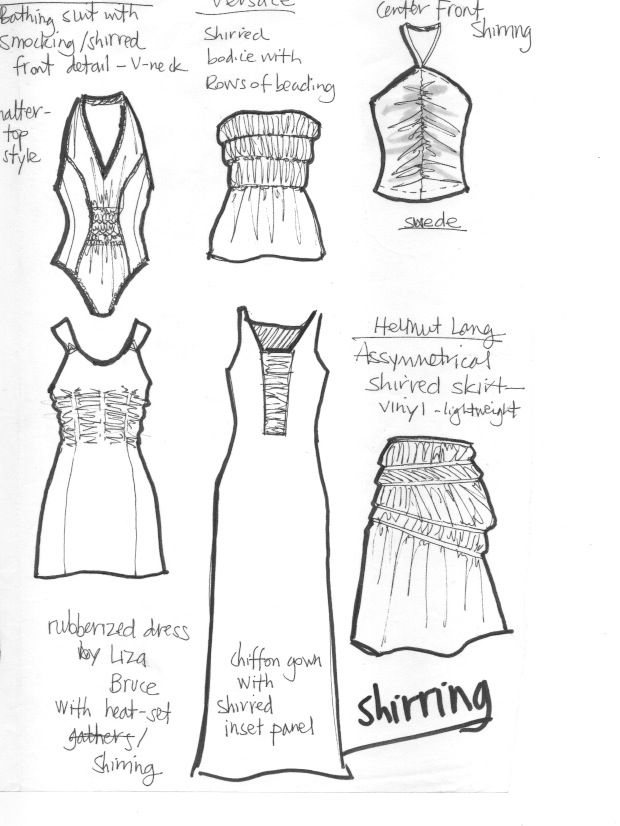 These flats sketches by Laura Volpintesta of Fashion