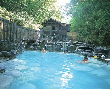 Japanese Onsen, Yamagata