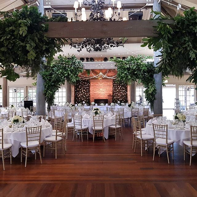 Pantone's colour of the year: Greenery infused within @stemdesignflorals wedding set up of The Grange, InterContinental Sanctuary Cove Resort. #intercontinenta