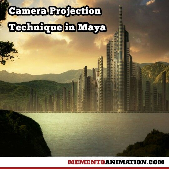 Camera projection technique in Maya is now available at www.mementoanimation.com