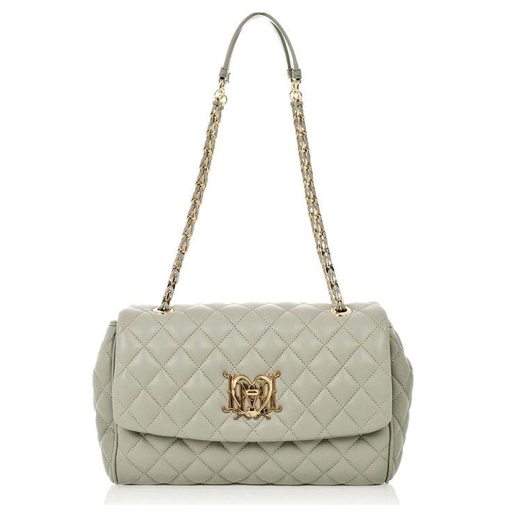 Love Moschino Quilted handbag at www.vogmoda.com