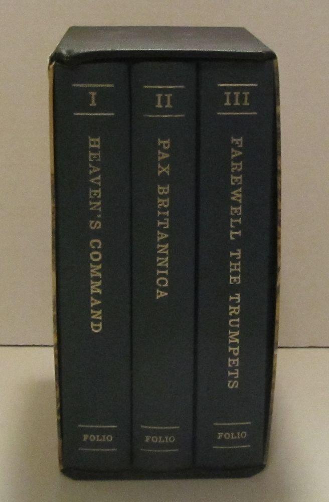 Pax Britannica Jan Morris Volumes 1-3 Slipcase Folio Society FREE SHIPPING
