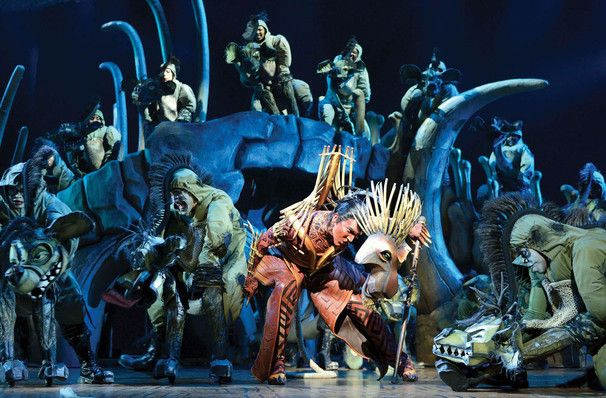 """The Lion King is set against the backdrop of African Savannah featuring live sized elephant and loveable yet evil hyenas. The show features some memorable score by Elton John and Tim Rice such as The Circle of Life"""", """"Can You Feel the Love Tonight"""" and """"I Just Can't Wait to Be King"""". The award winning show is set in the African pride-lands and opens with the birth of Simba, the Lion cub to King Mufasa and Queen Sarabi."""