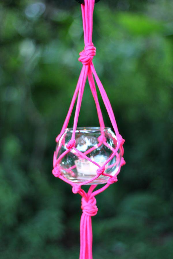 Outdoor Lantern DIY { video }