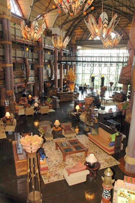 Disney's Animal Kingdom Lodge - Jambo House