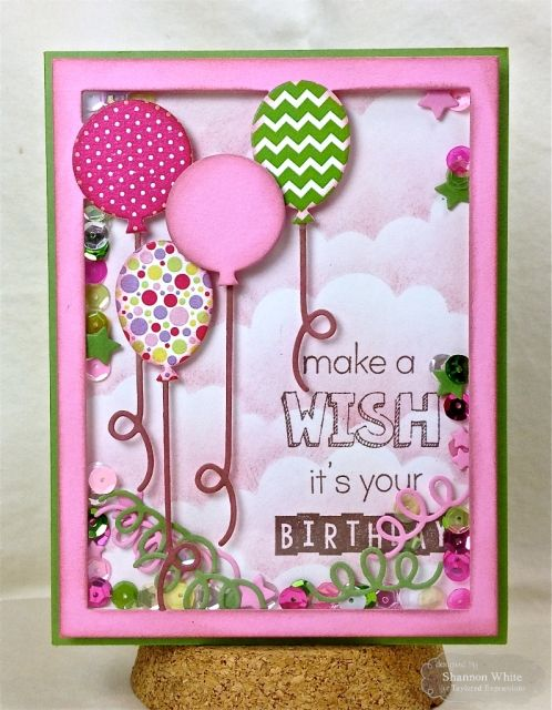 Card designed by Shannon White for Taylored Expressions and #SCTMagazine