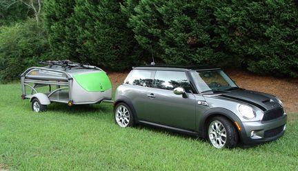 Mini Cooper Camper | SylvanSport Mini Cooper Camper Trailer @Marcellina Kampa