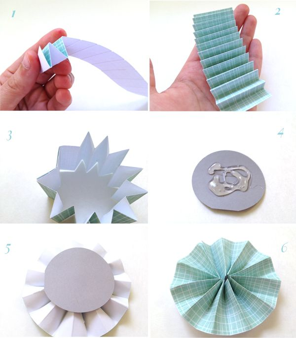 Lemon Jitters: DIY: Paper Rosettes (with a scoring board)