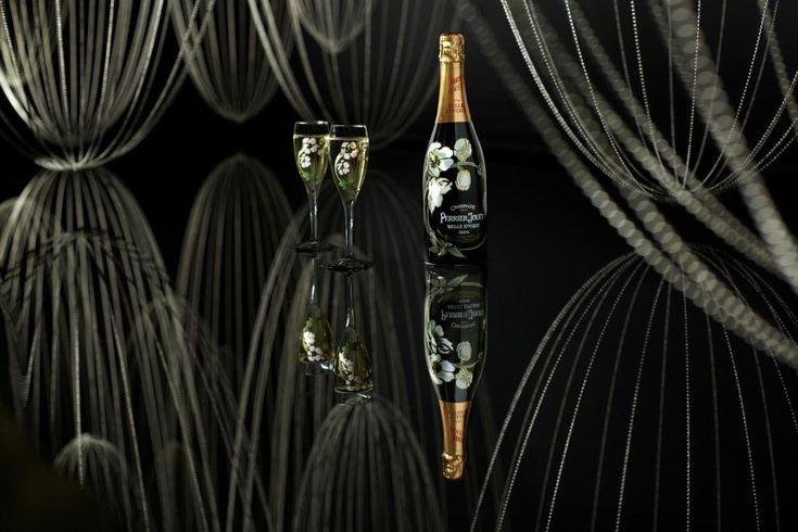 Perrier-Jouët Belle Epoque reflection at Design Miami/    Drink responsibly. #designmiami #art #champagne