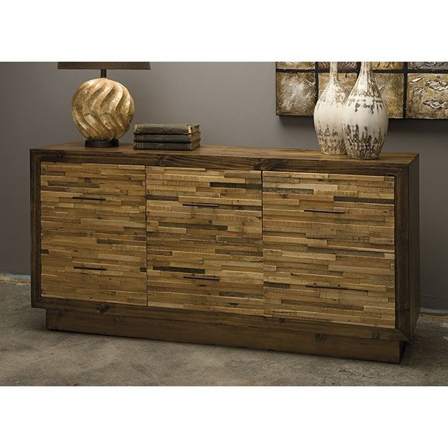 Reclaimed Wood Dresser - Industrial Chic Collection - Dot & Bo 63