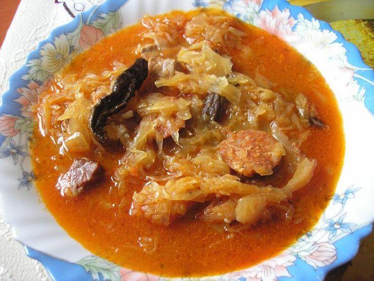 Kapustnica - a traditional, Slovakian soup served around Christmas. Delicious!