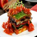 Torre de verduras | #Recetas de cocina | #Veganas - Vegetarianas ecoagricultor.com