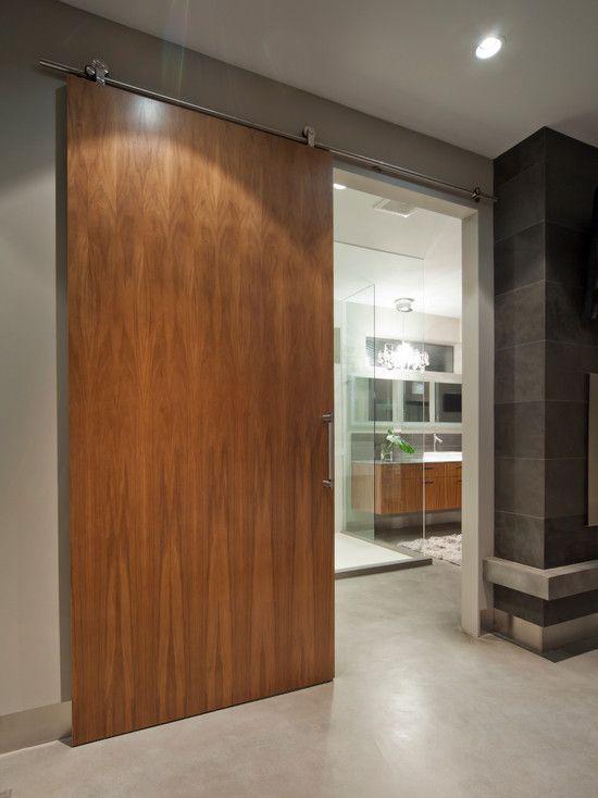 90+ Modelos de portas: Correr, madeira, vidro – Fotos