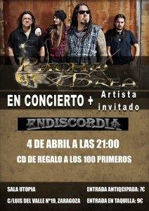 Pacho Brea + Endiscordia: Sala Utopía (Zaragoza) 04/04/2014