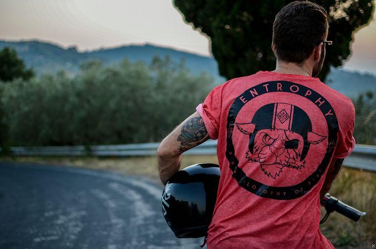 Entrophy motorbike #tshirt #cafèracer #entrophymotorbike
