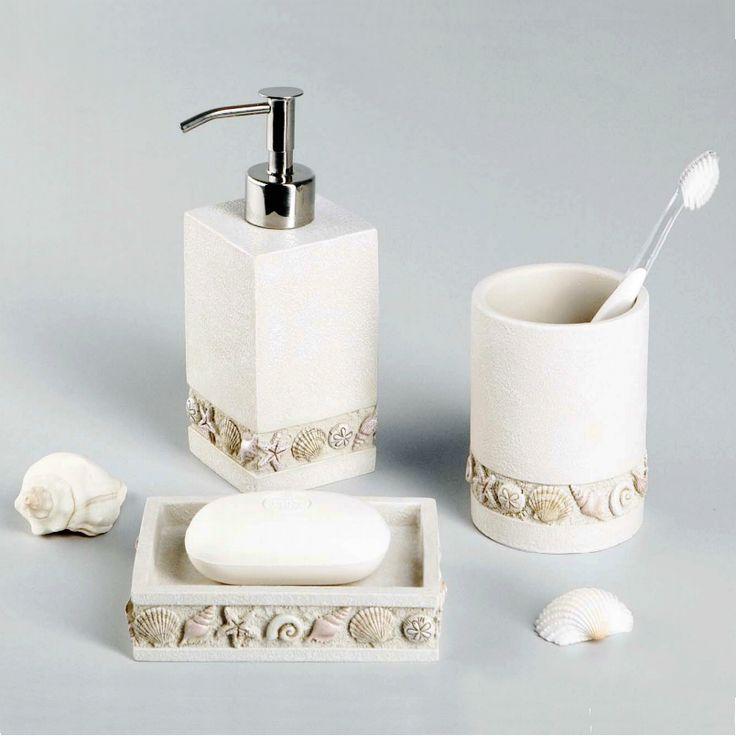 Функциональные и очень красивые аксессуары для ванной комнатыиз коллекции Inn популярного брендаWasserKraftнаполнят интерьер умиротворением и спокойствием, даря ощущение природного равновесия.  https://goo.gl/jiFH2w  Мыльница, дозатор для жидкого мыла и стакан для зубных щеток выполнены в натуральном песочном цвете. Морской объемный орнамент на изделиях выглядит реалистично, добавляя в ванную средиземноморские нотки.  Аксессуары изготовлены из высокотехнологичного минерально-полимерного…