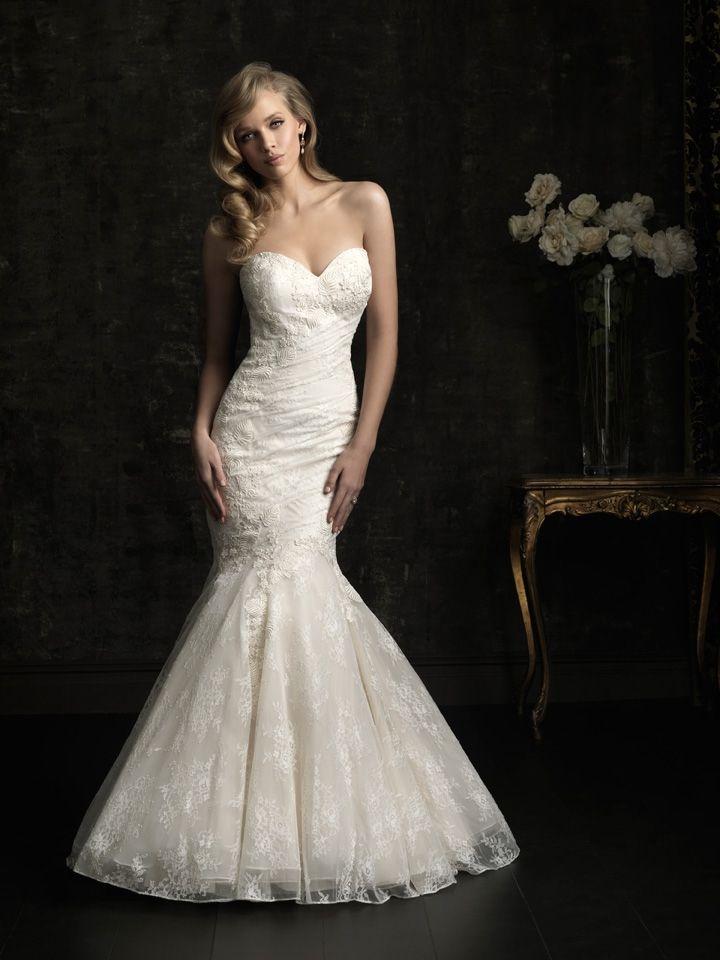 Best 20 Allure Bridals images on Pinterest | Bridal gowns, Wedding ...
