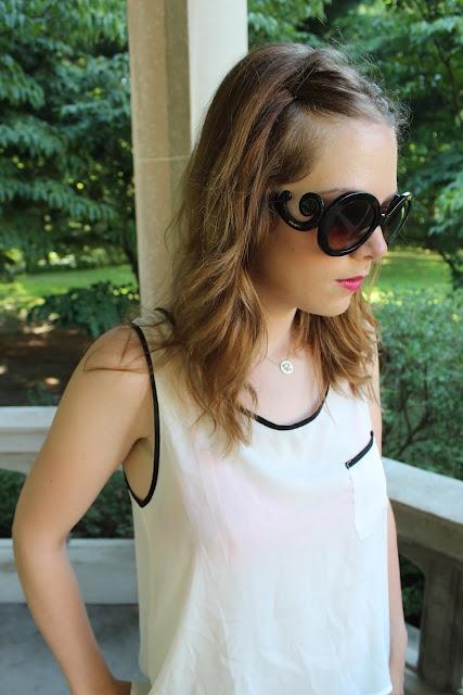 prada baroque sunglasses.