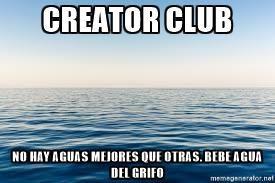 """Club """"A"""" Menorca: Bebe Agua del Grifo en CreATor Club"""