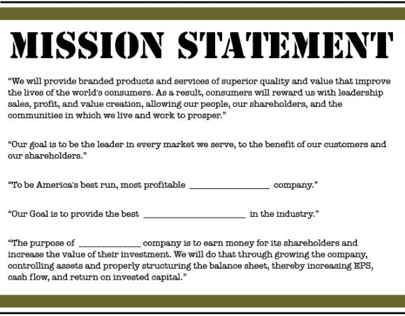 The 25+ best Mission statement template ideas on Pinterest - sample balance sheet template
