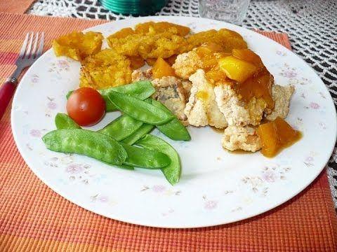 Cocina Real Free:  Pargo Rojo con mango y jenjibre