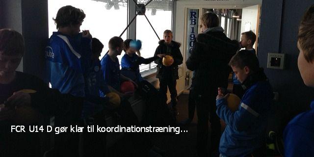FCRs U14 D bruger bl.a. vinteren til at forbedre koordinationen... #mentaltræning #bettinawæde