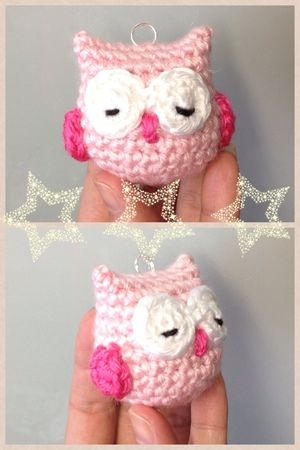 Crochet Owl Owl Owl charm doll toy by DDs Crochet