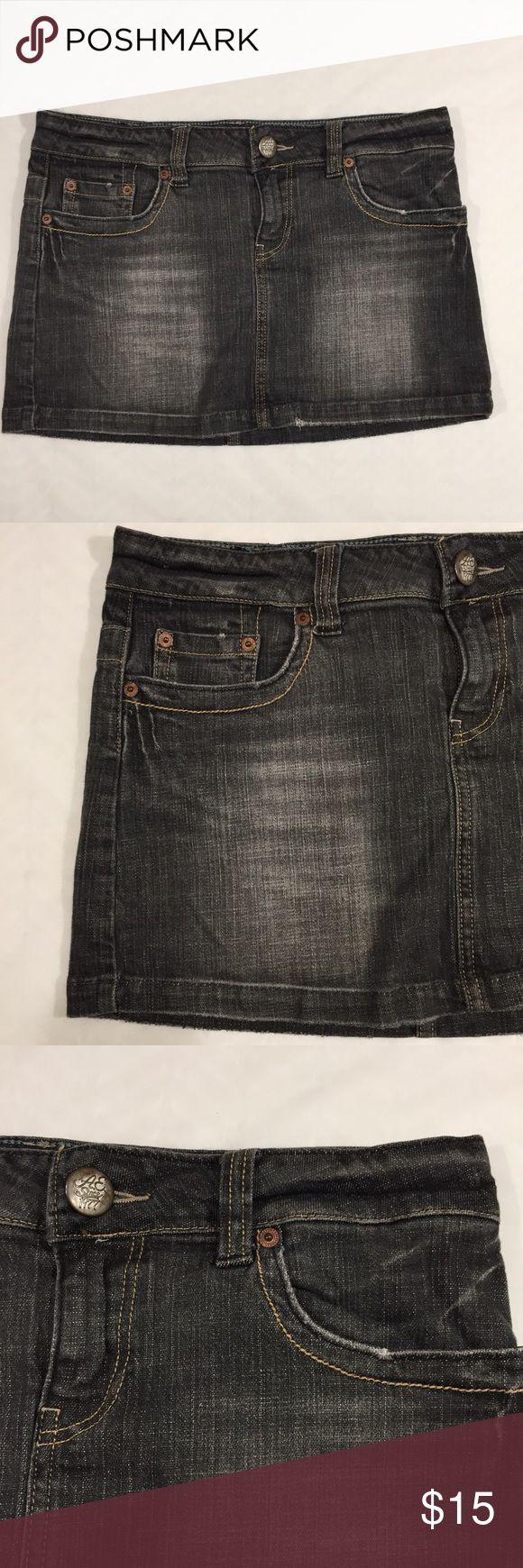 American Eagle 🦅 Mini Jean Skirt Size 8 Z American Eagle Outfitters Skirts Mini