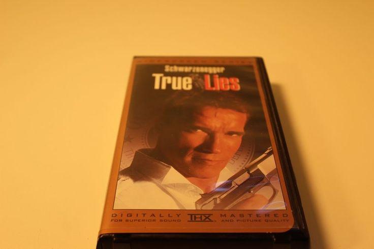 True Lies VHS Digitally Mastered THX ARNOLD SCHWARZENEGGER, JAMIE LEE CURTIS