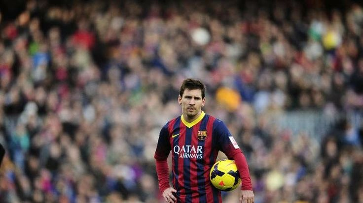 """The Legend Lionel Messi: Barcelona audience turn on Messi the at the """"Camp ..."""