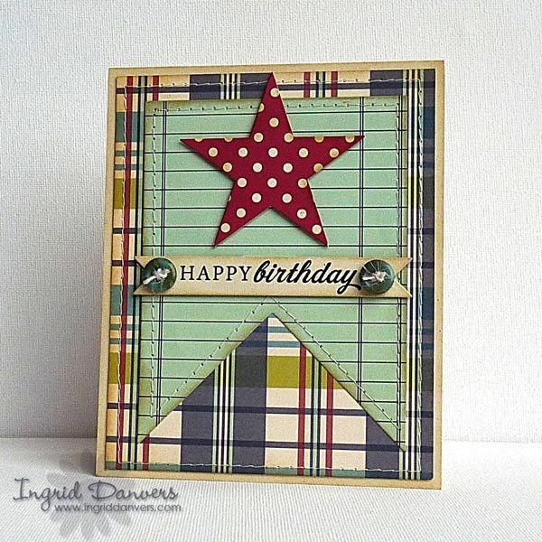 Image result for homemade birthday cards for men