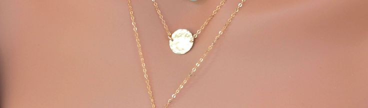 Gold Disc Necklace - Gold coin Necklace - Hammered Disc Necklace - Gold Disc Choker - Gold Coin Necklace - Gold Circle Necklace - Layered by rainbowearring on Etsy https://www.etsy.com/listing/519874280/gold-disc-necklace-gold-coin-necklace