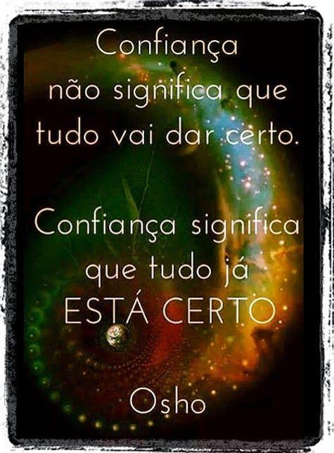 Luiza's Blog: CONFIANÇA