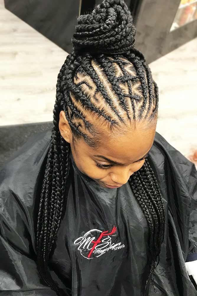 50 Cute Cornrow Braids Ideas To Tame Your Naughty Hair Cornrow Hairstyles Half Cornrows Cornrows Braids