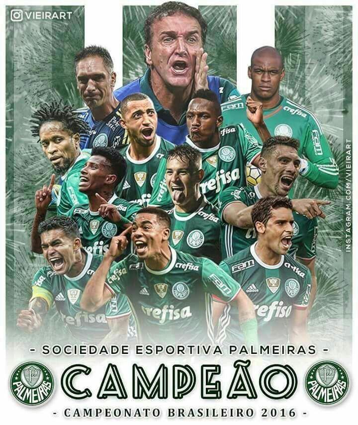 O Campeão Acordou !!! Palmeiras Enea Campeão Brasileiro...