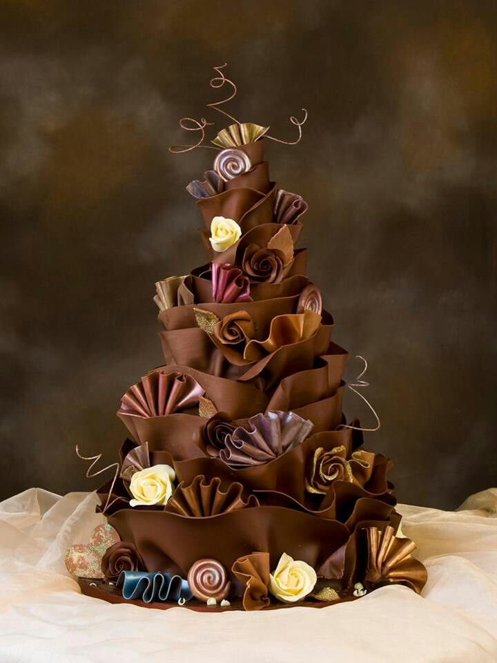 Beautiful! New modeling chocolate techniques?