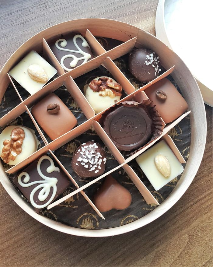 This Handmade Chocolate Candies Were Made In Lviv Ukraine Handmade Chocolates Chocolate Chocolate Candy