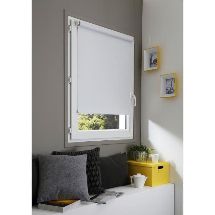 Domdeco Store Enrouleur Occultant Sans Percage Blanc 67x190 Cm Store Enrouleur Stores Decoration Maison