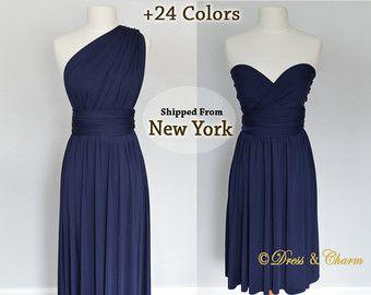 ♥♥We machen unsere Kleider in 2 bis 3 Wochen und wir versenden aus New York - USA mit USPS Priority Mail, wenn Sie es, vor dem Ansturm Ihrer Produktion von hier brauchen: https://www.Etsy.com/Listing/279273284/Rush-the-Production-of-your-dress-the ♥♥  ♥♥ 27 Farben sind verfügbar ♥♥ sehr weichen dehnbaren Stoff stricken eine Kombination von Spandex Polyester, nicht sehen, durch Stoff für viel Komfort. SIEHE UNSERE BEWERTUNGEN  ♥♥♥♥♥♥ Beachten Sie: Wir befinden uns jetzt in Niagara Falls, New…