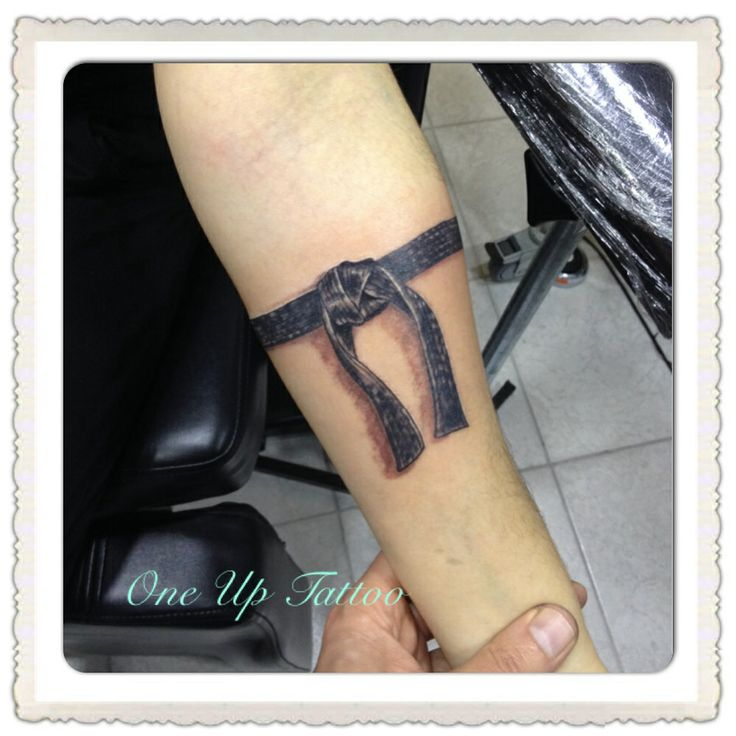 #Taekwondo#black#belt#tattoo#OneUpTattoo
