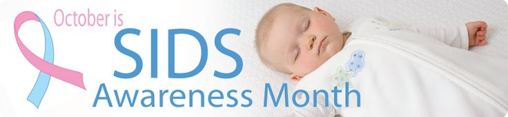 October is SIDS Awareness Month