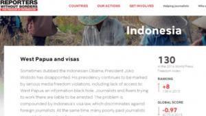 Kebebasan Pers Indonesia Peringkat ke 130 di Dunia
