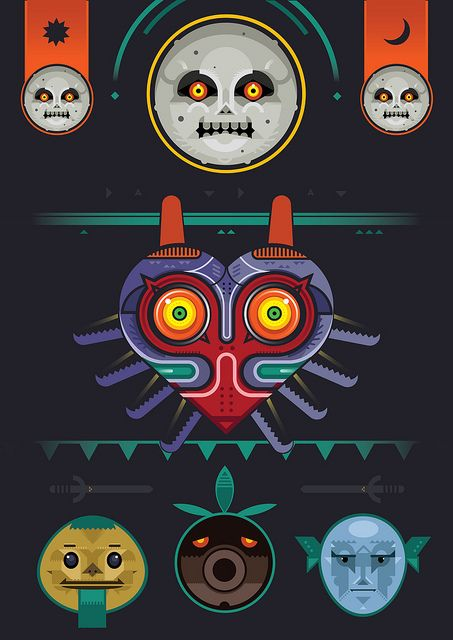 Majora's Mask, via Flickr. by BenBoothman