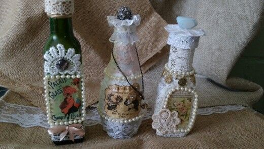 Botellas pequeñas