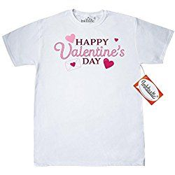 Inktastic Happy Valentine's Day T-Shirt XXXX-Large White